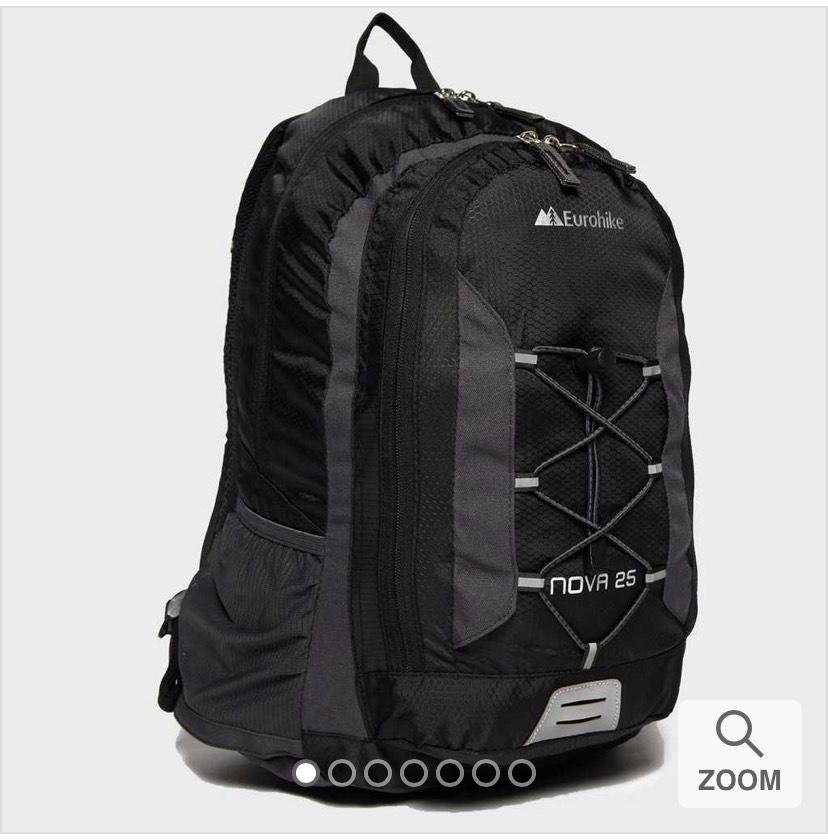 Eurohike Nova 25L rucksack for £16.95 delivered at Blacks