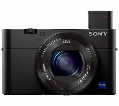 SONY Cyber-shot DSC-RX100 III High Performance Compact Camera - Black £279.97 @ Currys / Ebay