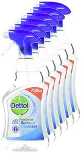 Amazon - Dettol Anti-Bacterial Surface Cleanser, 750 ml, Pack of 6 for £9 Prime / £13.49 Non-Prime @ Amazon