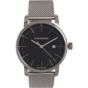 Wenger Stainless Steel Analogue Watch £49.99 Click & Collect @ TK Maxx