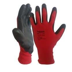 Red Black Nitrile Palm General Safety Glove - EN388 (4131) and CE Certified £3.90 delivered at Thesafetysupplycompany