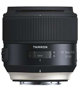 Tamron SP35mm F / 1.8 Di USD Sony lens (67mm filter thread, fixed) black £287.39 delivered at Amazon Germany
