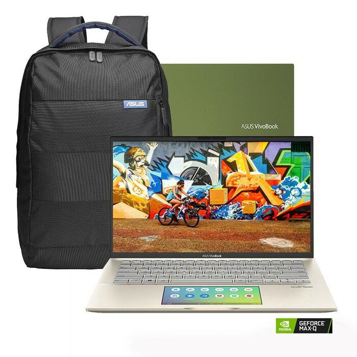 "ASUS Vivobook 14"" S14 S432 - i7-10510U / 8GB RAM / 1TB SSD / MX250 / ScreenPad 2.0 + Backpack - £774.99 With Code@ eBay / laptopoutletdirect"