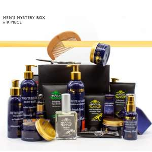 8pc Skin & Body Care Mystery Box - Options for Men & Women now £10 + Free delivery using code @ Cougar Beauty