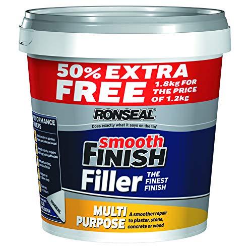 Ronseal Smooth Finish Filler Multi-Purpose Ready Mixed 1.8kg £8.45 Amazon Prime / £12.94 Non Prime @ Amazon