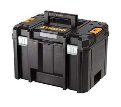 DEWALT DWST1-71195 TSTAK Deep Tool Box, Yellow/Black £19.99 Prime / £24.48 Non-Prime @ Amazon