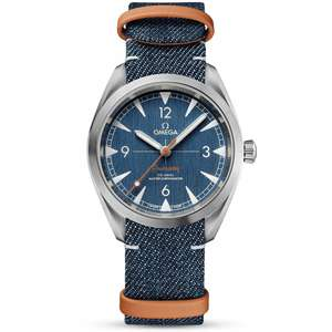 Omega Seamaster Railmaster 40mm Blue Dial Men's Nato Strap Watch - £2,920 @ Berrys