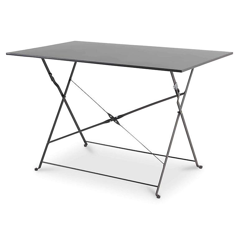 Saba Metal Folding Table - £10 (+p&p £5) @ B&Q