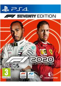 F1 2020: Seventy Edition PS4 £32.85 Delivered @ SimplyGames