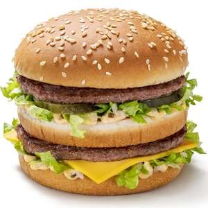 McDonald Voucher back page of Metro 29 Sept - Big Mac, Fillet o fish or quarter pounder with cheese £1.99 Valid after 11am