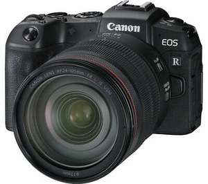 EOS RP Mirrorless Camera with RF 24-105 mm f/4L IS USM Lens & Mount Adapter - £1,649.18 delivered @ currys_clearance / eBay