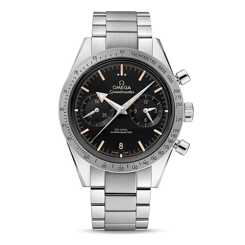 Omega Speedmaster '57 Men's Stainless Steel Bracelet Watch - £6000 delivered @ Ernest Jones