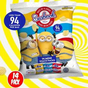 Seabrook Minions 14 Pack £1 in stores at Fulton Foods