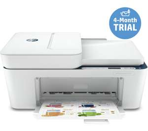 HP DeskJet Plus 4130 Printer reduced, plus poss. £15 cashback and 4months 'instant ink' - £49.99 @ Currys PC World