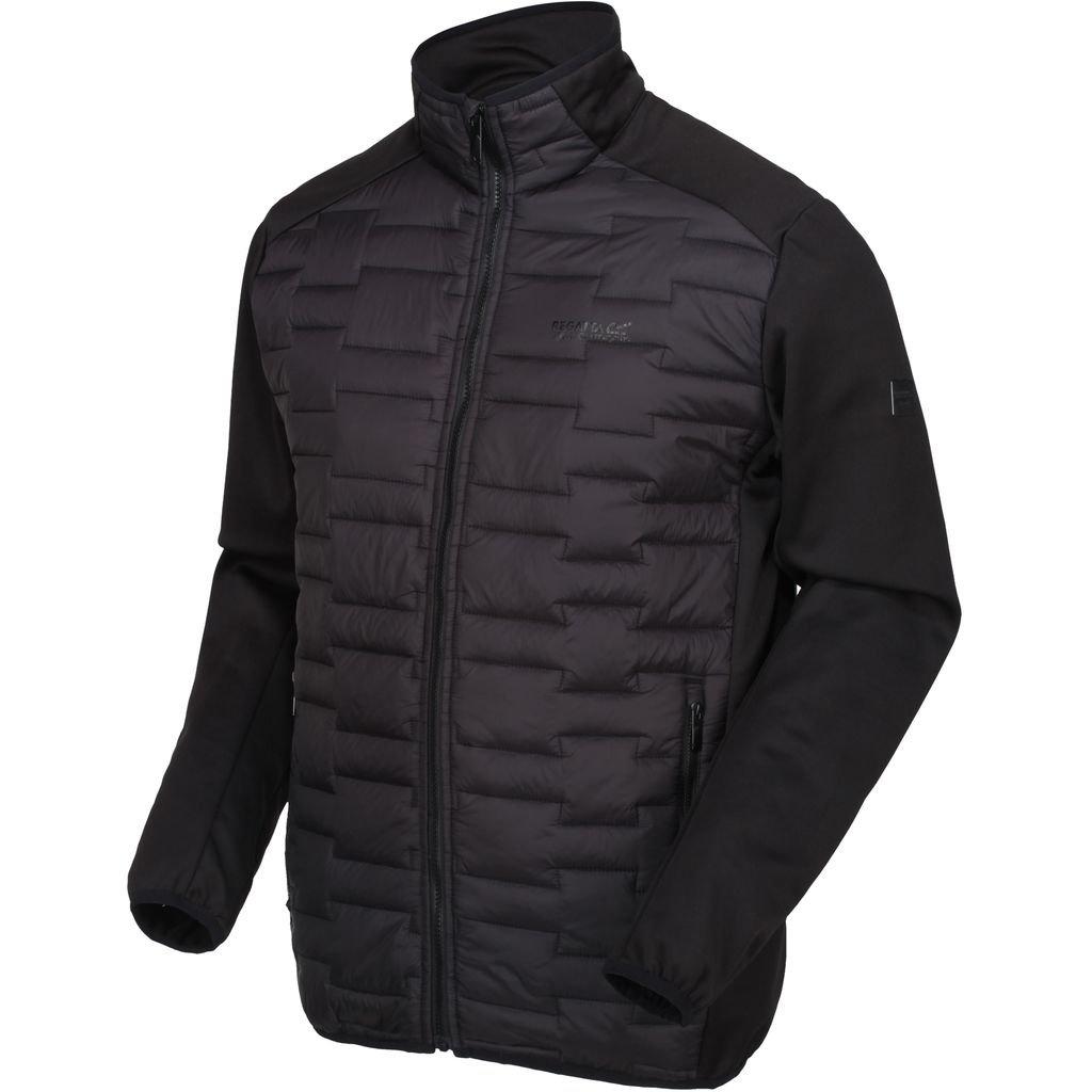 Men's Black Regatta Clumber Hybrid Jacket coat - £24.95 Delivered @ Wow Camping