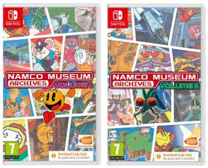 Namco Museum Archives Vol 1 or Vol 2 on Nintendo Switch for £9.99 delivered @ Simply Games