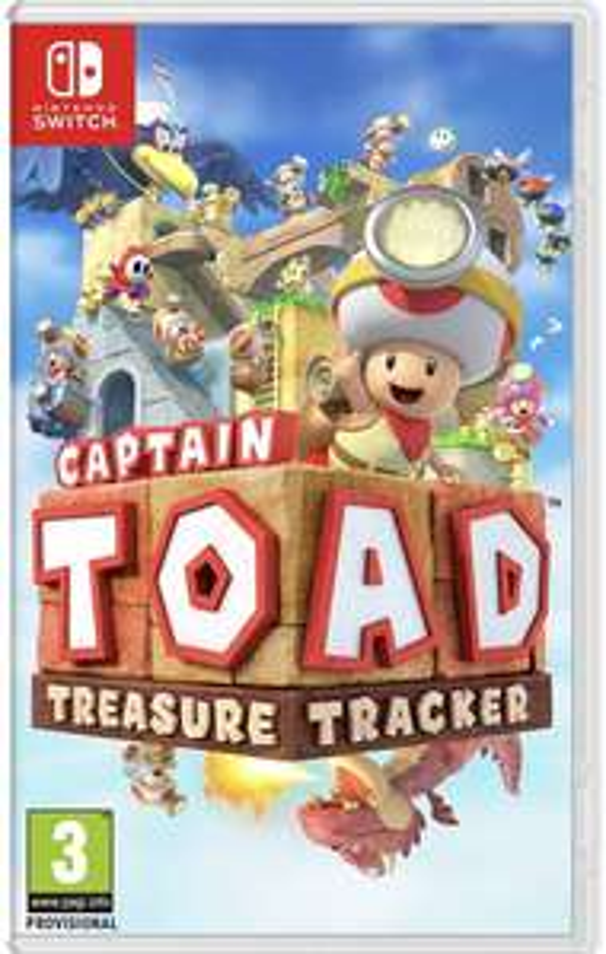 Captain Toad: Treasure Tracker (Switch) - £16 instore @ Asda, Durham