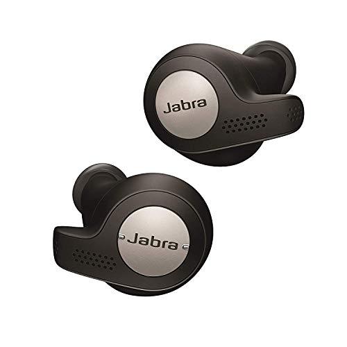 Jabra Elite Active 65t Earbuds - Passive Noise Cancelling Bluetooth Sport Earphones - Titanium Black £90 @ Amazon