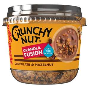 Kellogg's crunchy nut granola fusion choc + hazelnut £1.60 at Tesco - free with checkout smart, claim after purchase