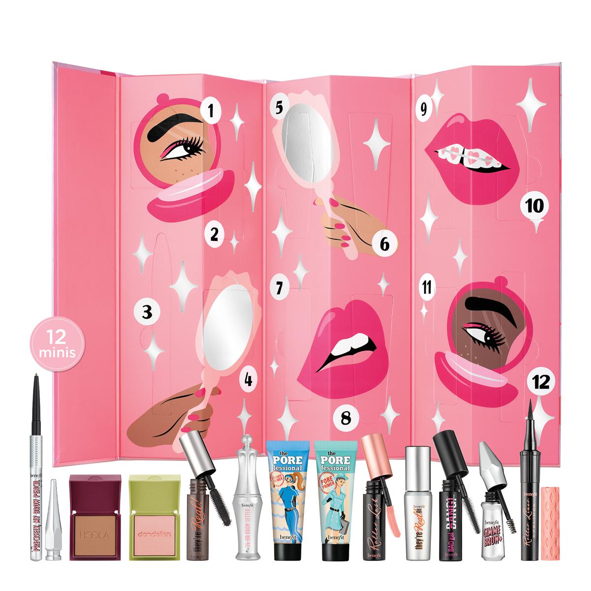 Benefit Shake Your Beauty Advent Calendar plus free gift £58.50 Benefit Cosmetics Shop