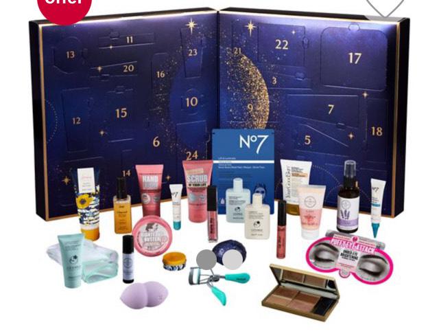 Macmillan 24 Days Of Beauty Advent Calendar £42 Boots