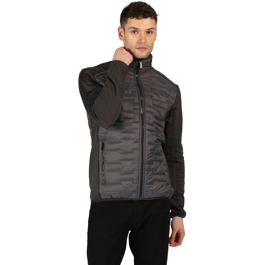 Men's Grey Regatta Clumber Mens Hybrid Jacket (Magnet/Ash) - £21.50 / £25.45 delivered @ Wow Camping