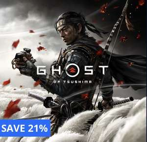 Ghost of tsushima (PS4) £37.85 using Shopto Credit @ PlayStation Store