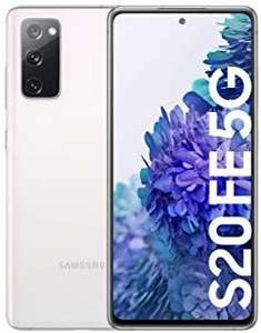 Samsung Galaxy S20 FE 5G Snapdragon 865 Sim Free Android Smartphone, White - £619.17 @ Amazon Spain