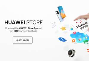 Huawei Store 10% off through App Store