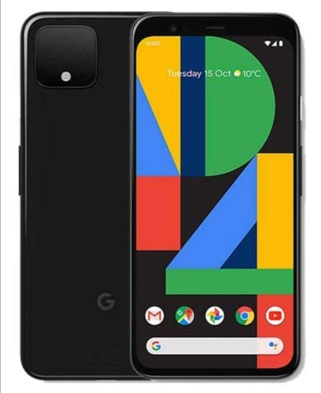 SIM Free Google Pixel 4 128GB Mobile Phone - White Smartphone - £464 @ Argos