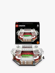 LEGO Creator 10272 Old Trafford - Manchester United - £199 delivered with code for cardholders @ John Lewis & Partners