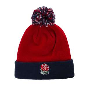 2020 Chilli Pepper England Acrylic Bobble Hat £5.60 (£4.49 del) at rugbystore.co.uk