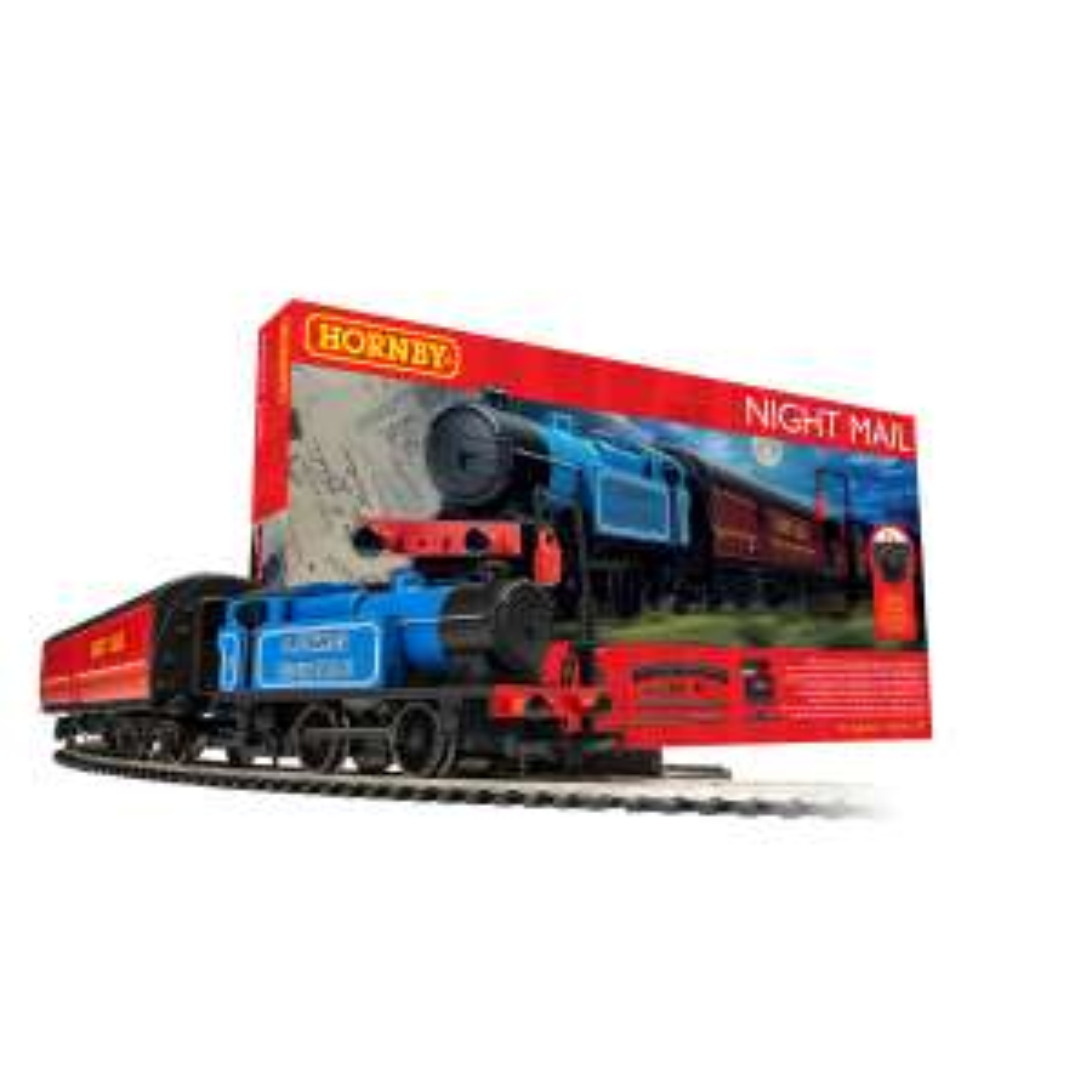 Hornby Night Mail 00 gauge train starter set for £109.99 delivered using code @ The Entertainer