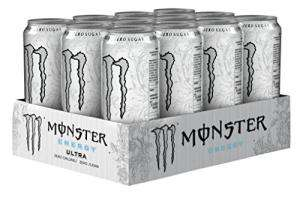 Monster Energy Ultra Drink 500ml Can (Pack of 12) £10.50 Prime / £14.99 Non-Prime @ Amazon