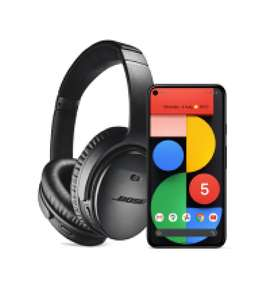 Buy a Google Pixel 5 (£599) or Pixel 4a (5G) (£499) and claim a set of Bose QC 35 II Wireless Headphones for free via Google