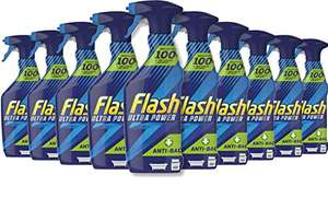 Flash Ultra Power Spray Cleaner Anti-Bacterial, Case of 10 x 500 ml - £14.89 at Amazon (£14.15 with S&S / + £4.49 NP)