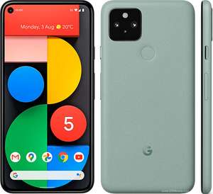 Google Pixel 5 + Bose + TCB on Vodafone with 54GB Data & Unlimited Calls/Texts £30 per month for 24 months + £125 Upfront via Mobiles.co.uk