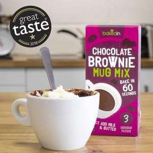 Vodafone Veryme - Free mug cakes mixes + £2.99 Postage from Bakedin