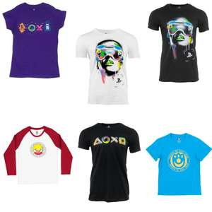 Various T-Shirts From £3 Delivered - Including Playstation & Ni No Kuni Ii Designs @ Geekstore