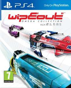 Wipeout Omega collection (PS4) new £9.06 (can be played in vr!) @ GameStop Ireland
