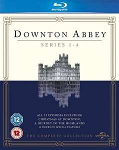 Downton Abbey Series 1-4 Blu-ray (used) £4.95 delivered @ Cex