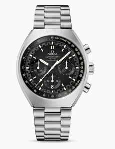 Omega Speedmaster Mark II Co-axial Chronograph Watch 42.4 X 46.2 MM £3695 @ Browns Family Jewellers