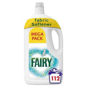 2 x Fairy Fabric Conditioner for Sensitive Skin 112 Washes (224 washes) £10 @ Ocado