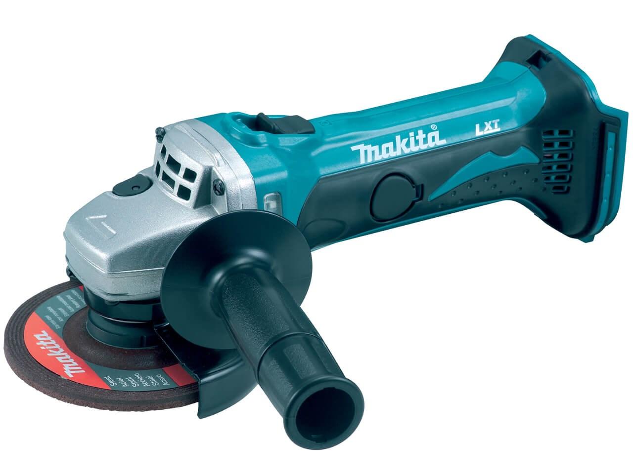 Makita DGA452Z 18v 115mm LXT Angle Grinder Bare Unit Anti Restart - £71. 61 delivered using code @ folkestonefixings