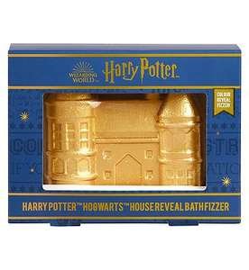 3 for 2 Harry Potter Hogwarts House Reveal Bath Fizzer + £6 each + £1.50 click & collect at Boots