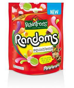 Nestle Rowntrees Randoms Squishems 140g Sweet Bag (Pack of 10) £5.99 @ WHSmith