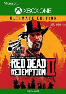 Red Dead Redemption 2: Ultimate Edition Xbox One (UK) - £32.99 @ CDKeys