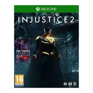 Injustice 2 with Darkseid DLC (Xbox One) £6.95 delivered at The Game Collection