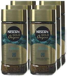 Nescafe Gold Origins 6 x 100g - £13.50 Prime / £12.50 S&S (+ £4.49 non-Prime) @ Amazon