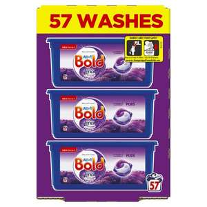 Bold All In One Washing Pod Lavender & Camomile with Lenor 57 washes £4.90 at Tesco in Ilkley